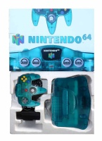 N64 Console + 1 Controller (Ice Blue) (Boxed)