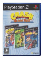 Crash Bandicoot Action Pack (Nitro Kart / Twinsanity / Tag Team Racing)