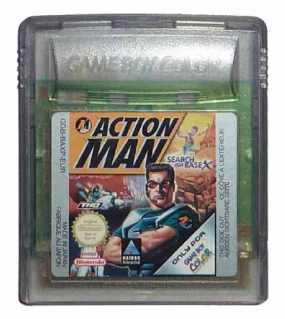 Action Man: Search for Base X - Game Boy