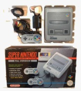 SNES Console + 1 Controller (Boxed)