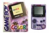 Game Boy Color Console (Atomic Purple) (CGB-001) (Boxed)