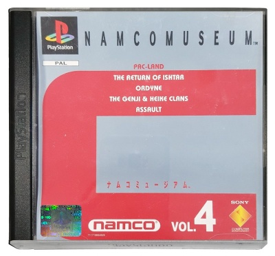 Namco Museum: Vol. 4 - Playstation
