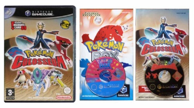 Pokemon Colosseum + Pokemon Box: Ruby & Sapphire - Gamecube