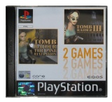 2 Games: Tomb Raider III: Adventures of Lara Croft + Tomb Raider: The Last Revelation