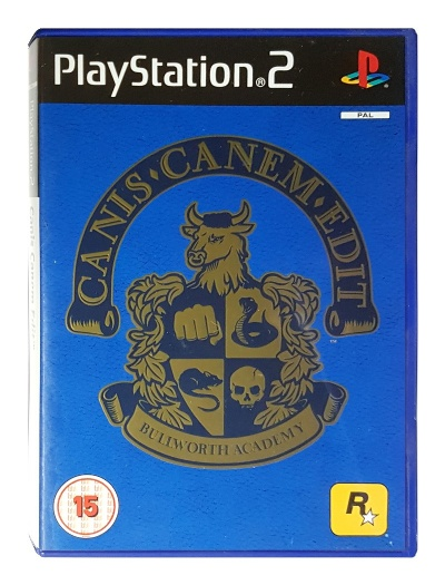 Canis Canem Edit (AKA Bully) - Playstation 2